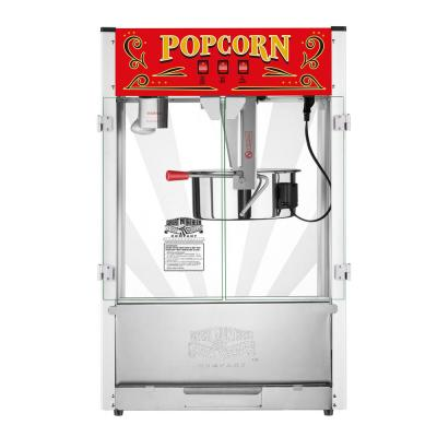 Commercial Midway Marvel 16 oz. Silver Popcorn Machine
