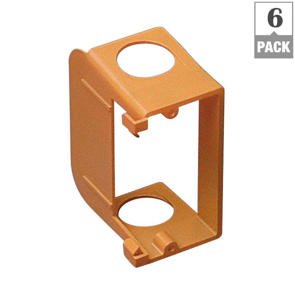 1-Gang Low-Voltage Add-On Bracket (Case of 6)
