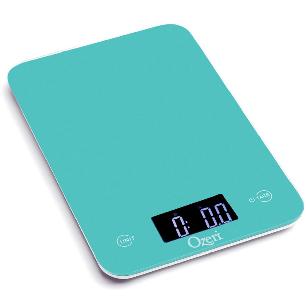 Ozeri Touch Professional Digital Kitchen Scale 12 Lbs Edition Tempered Gl In