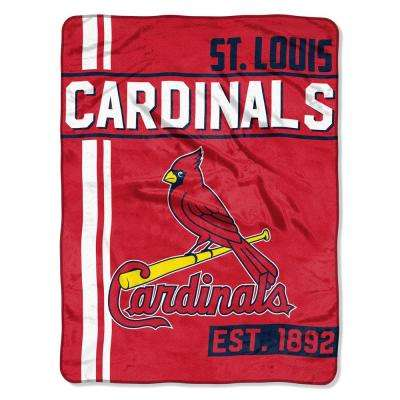 Cardinals Multi Color Polyester Walk Off Micro