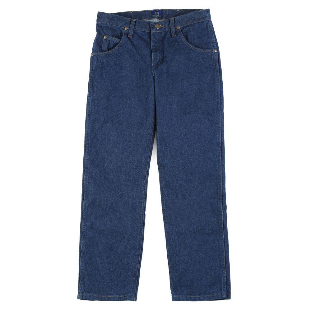 7e819ddd Wrangler Men's Regular Fit New Cowboy Cut Jean-47MWZPW - The Home Depot
