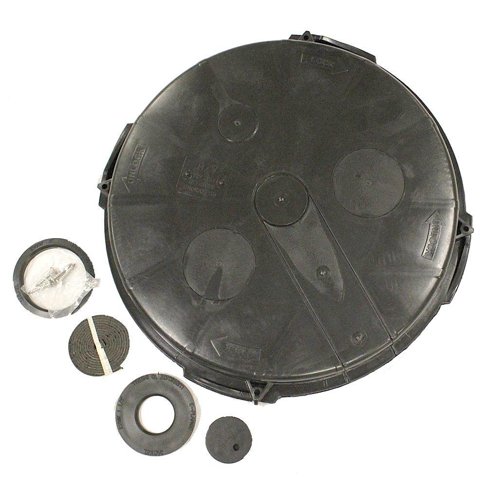 Advanced Drainage Systems Ads Radon Vented Sump Lid