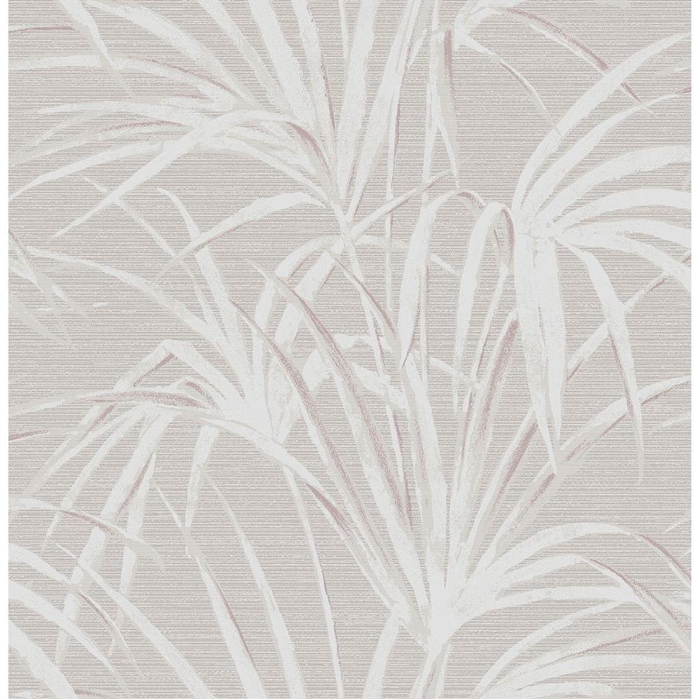 Song Grey Fountain Palm Wallpaper Sample