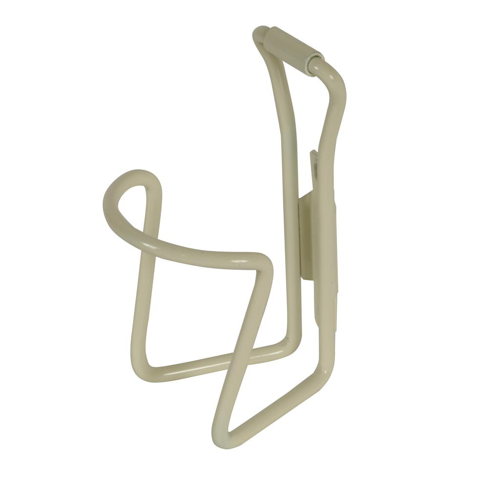 M-Wave Alloy Bicycle Water Bottle Cage in White