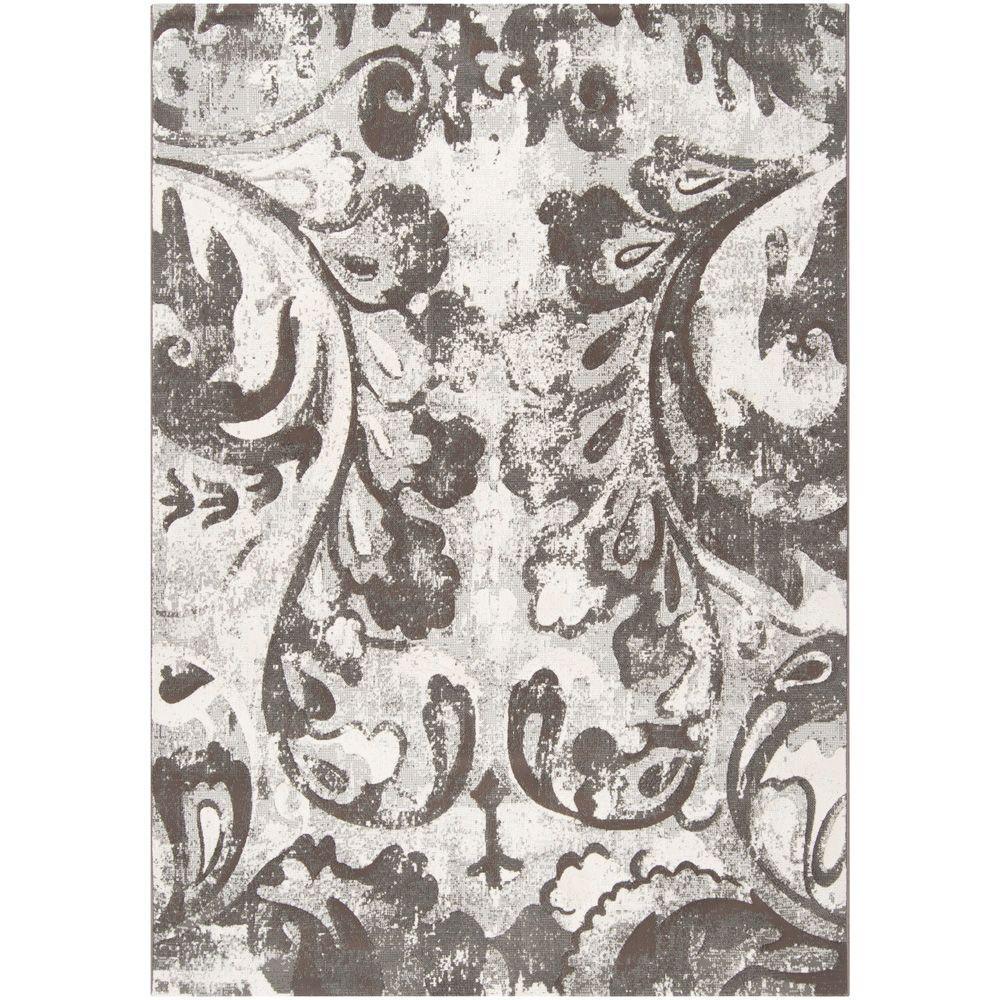 Artistic Weavers Eldoret Gray 5 ft. 3 in. x 7 ft. 6 in. Area Rug