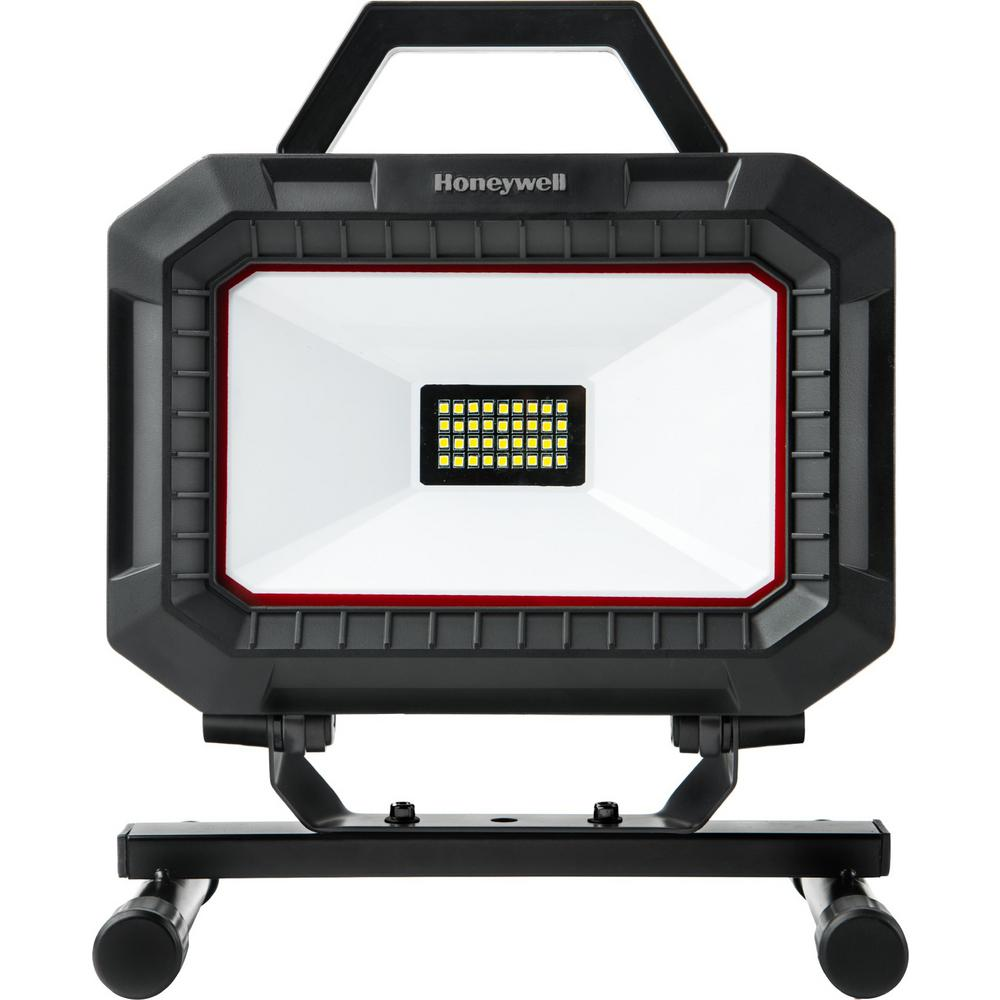 Honeywell Black and Red Integrated LED Portable Work Light