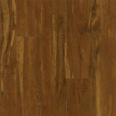 Spiced Apple Laminate Flooring - 5 in. x 7 in. Take Home Sample