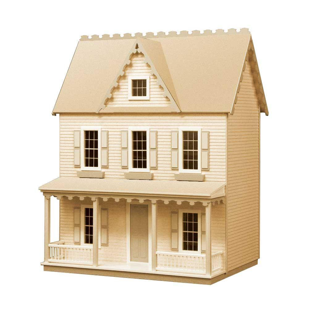 Houseworks Vermont Farmhouse Jr. Dollhouse Kit