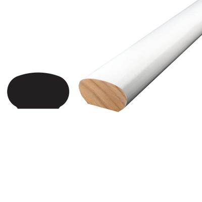 WM 240 1-1/4 in. x 2-1/4 in. x 96 in. Primed Finger Jointed Pine Handrail Moulding