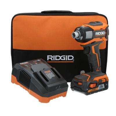 GEN5X 18-Volt Lithium-Ion 1/4 in. Cordless Impact Driver Kit