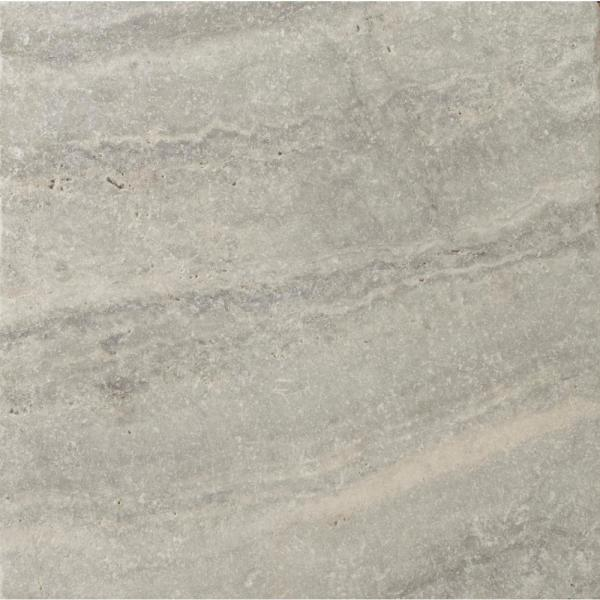 Trav Crosscut Silver Filled and Honed 17.99 in. x 17.99 in. Travertine Floor and Wall Tile (2.25 sq. ft.)