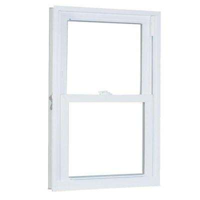 33.75 in. x 61.25 in. 70 Series Double Hung Buck PRO Vinyl Window - White
