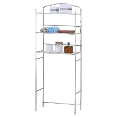 Wayar 24.02 in. W x 61.42 in. H Space Saving Shelf in Silver
