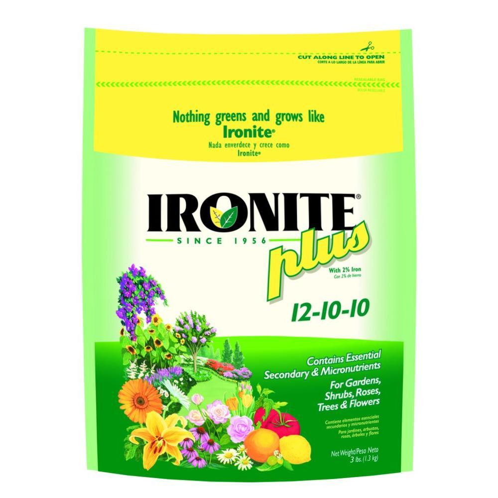 Ironite Plus 3 lb. 12-10-10 Plant Food