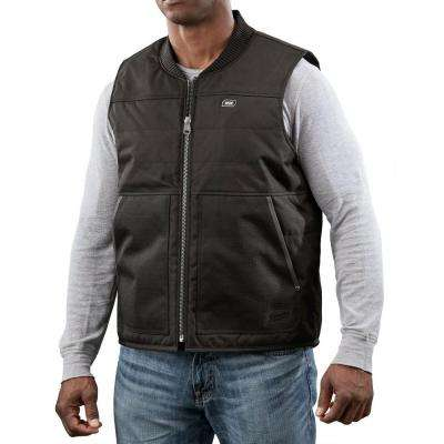 3X-Large Black M12 Lithium-Ion Cordless Ripstop Heated Vest ( Vest Only)