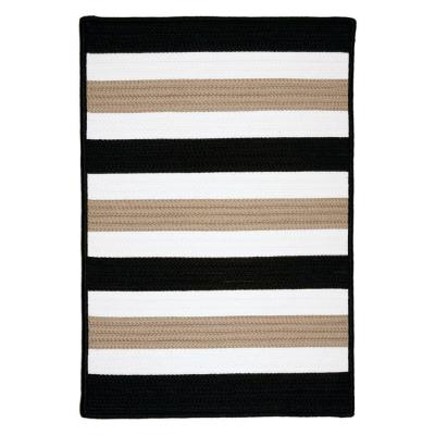 Cape Cod Black Sand 12 ft. x 15 ft. Braided Area Rug