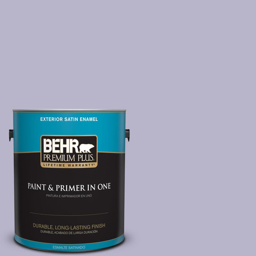BEHR Premium Plus 1-gal. #S570-3 Bohemianism Satin Enamel Exterior Paint