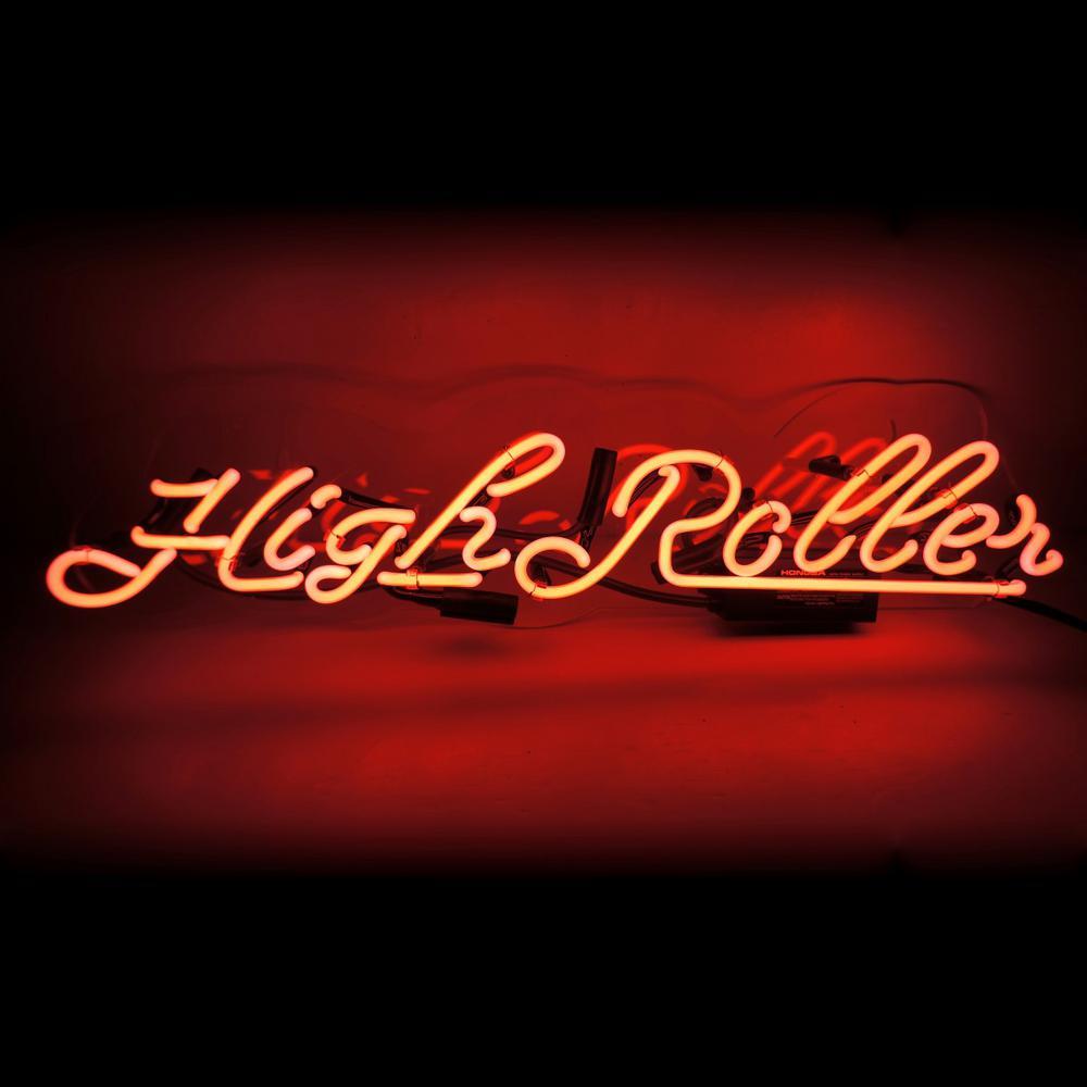 Oliver Gal 'Highroller' Plug-in Neon Lighted Sign