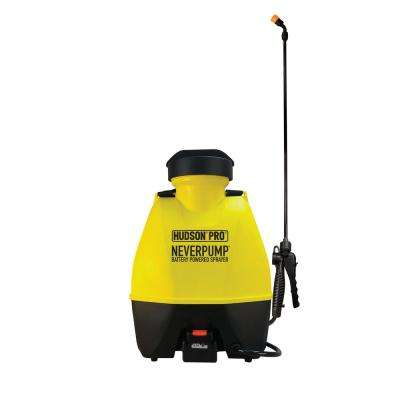 4 Gal. Lithium-Ion Battery Powered Backpack Sprayer
