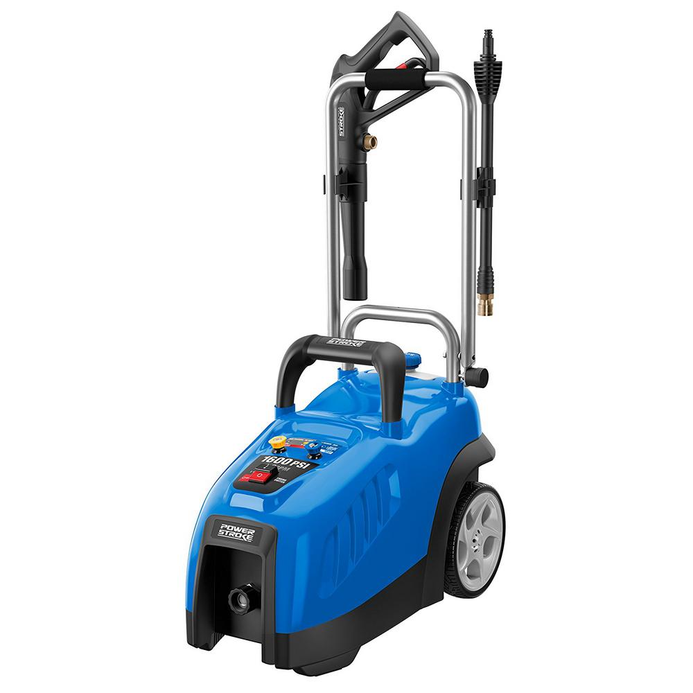 powerstroke pressure washer powerstroke 1600 psi 1 2 gpm electric pressure washer 10648