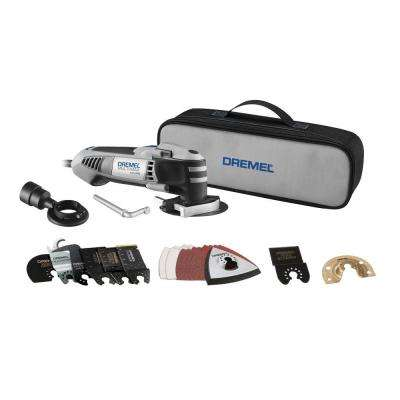 2.5 Amp Multi-Max Ultimate Corded Oscillating Tool Kit with Quik-Lock