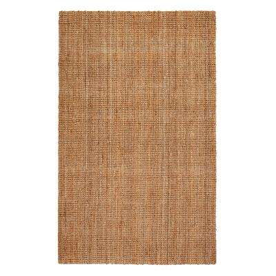Andes Brown 2 ft. x 3 ft. Jute Area Rug