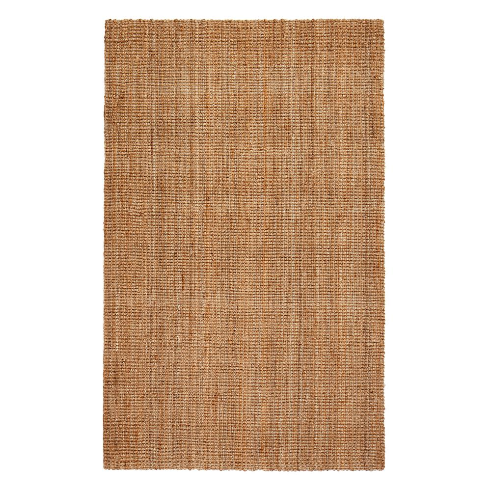 Andes Brown 3 ft. x 12 ft. Jute Area Rug