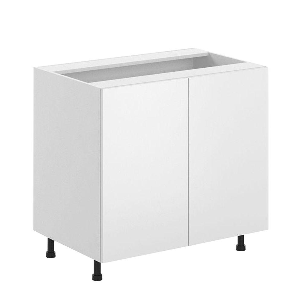 fabritec ready to assemble in alexandria full height base cabinet in white. Black Bedroom Furniture Sets. Home Design Ideas
