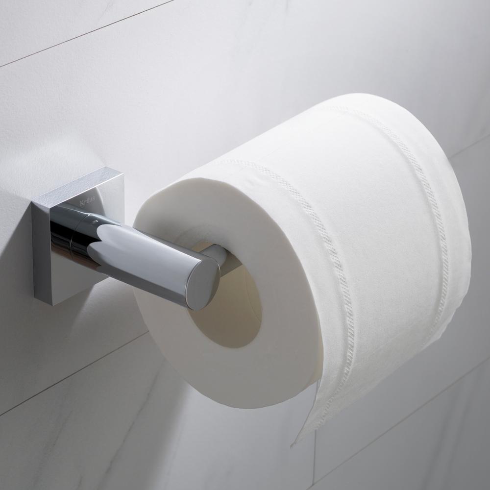 Ventus Bathroom Toilet Paper Holder in Chrome