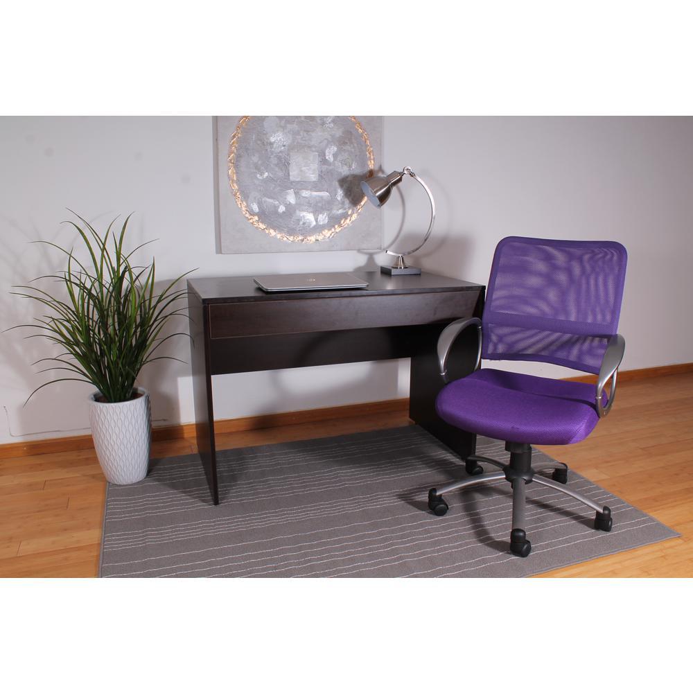 Boss Purple Mesh Back Task Chair (Vibrant)