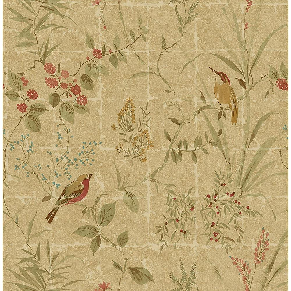 Beacon House Imperial Green Garden Chinoiserie Wallpaper