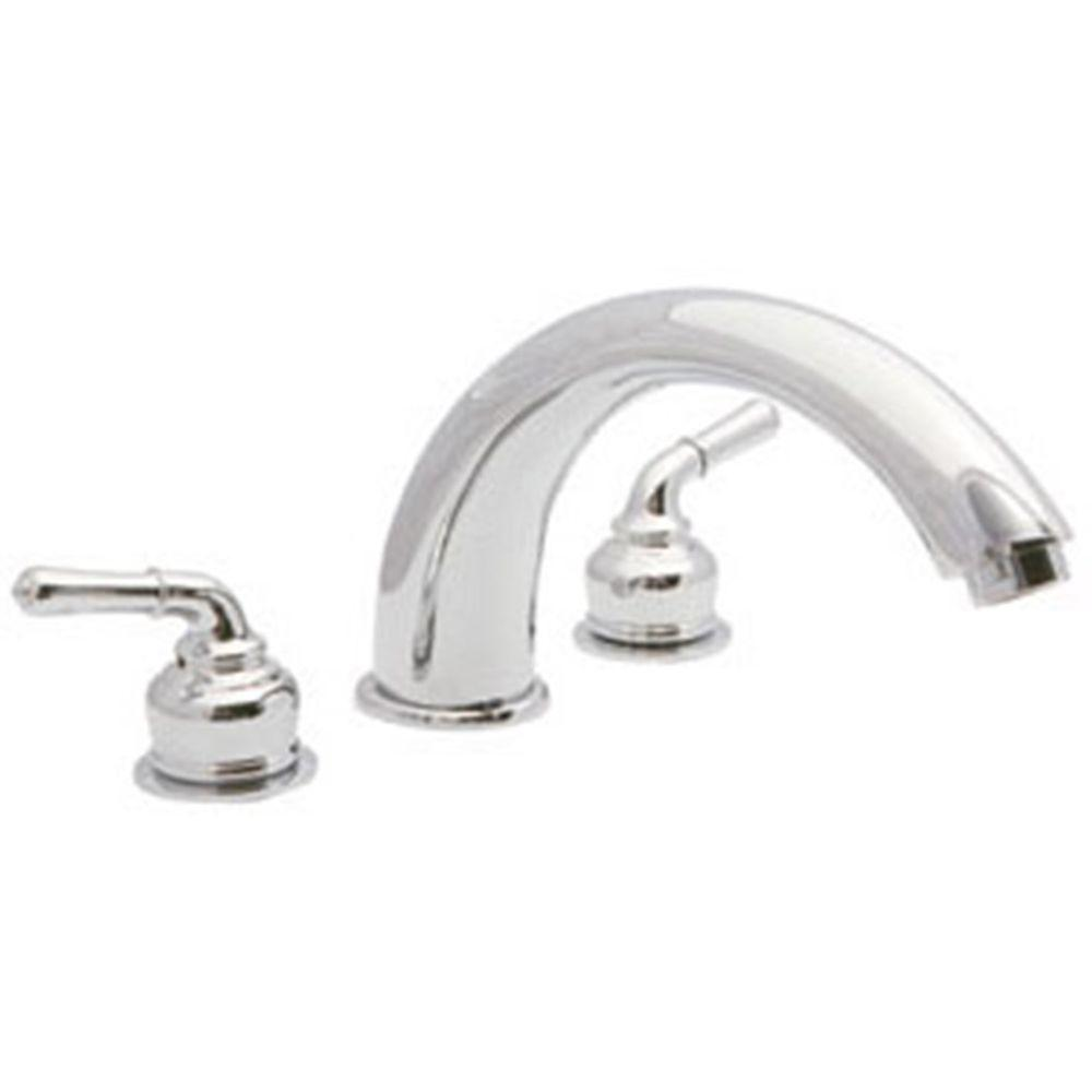 Design House Langdon 2-Handle Deck-Mount Roman Tub Faucet in Polished Chrome -- DISCONTINUED