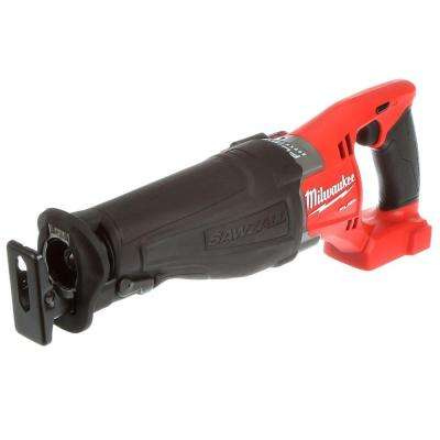 M18 FUEL 18-Volt Lithium-Ion Brushless Cordless Sawzall Reciprocating Saw (Bare Tool)