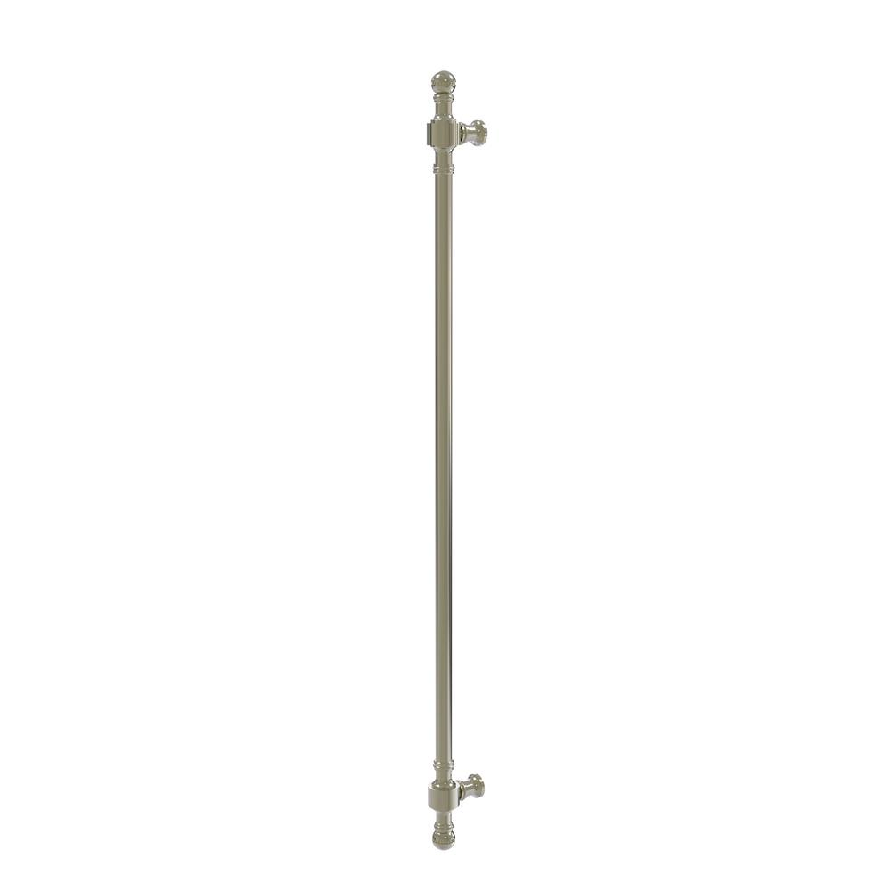 Retro Dot Collection 18 in. Beaded Refrigerator Pull in Polished Nickel