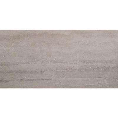 Trevi Gris 12 in. x 24 in. Glazed Porcelain Floor and Wall Tile (16 sq. ft. / case)