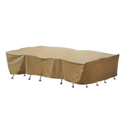 Large Rectangle Table and Chair Set Cover