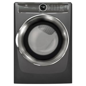 8.0 cu. ft. Electric Dryer with Steam, Predictive Dry in Titanium, ENERGY STAR