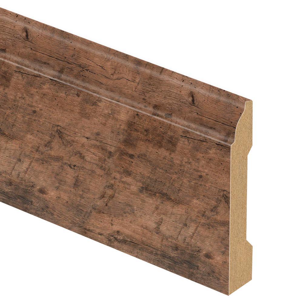 Zamma Rustic Grey Oak 9 16 In Thick X 3 1 4 In Wide X 94