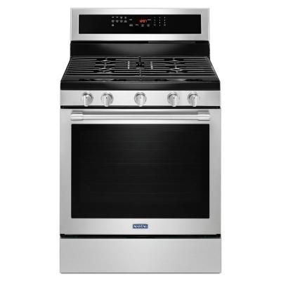 5.8 cu. ft. Gas Range with True Convection in Fingerprint Resistant Stainless Steel
