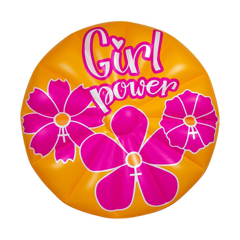 #Girlpower Swimming Pool Float Island