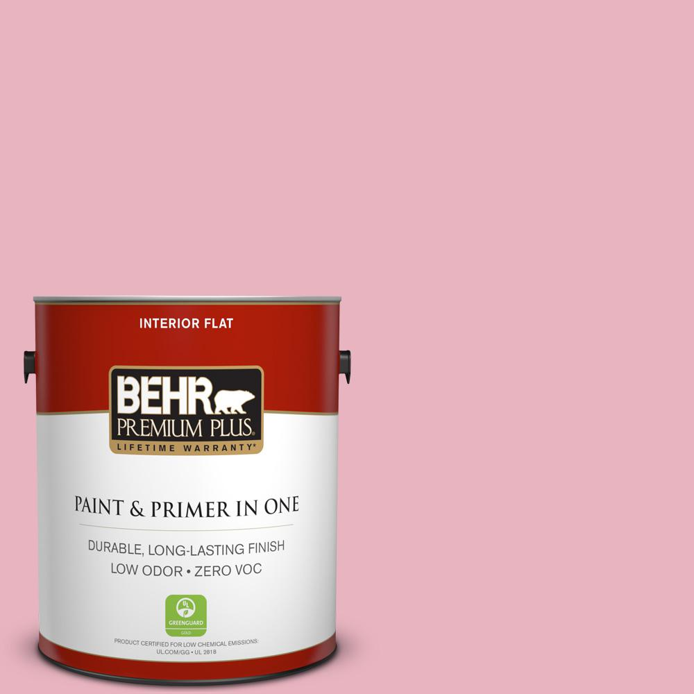 1-gal. #110C-2 Colonial Rose Zero VOC Flat Interior Paint