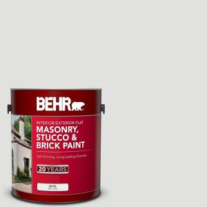 Enjoyable Behr 1 Gal Bl W13 Silver Polish Flat Interior Exterior Masonry Stucco And Brick Paint 27001 The Home Depot Home Remodeling Inspirations Gresiscottssportslandcom
