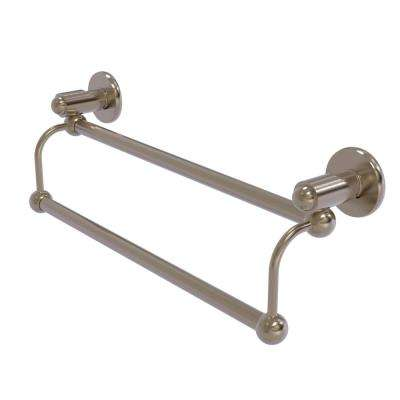 Soho Collection 18 in. Double Towel Bar in Antique Pewter