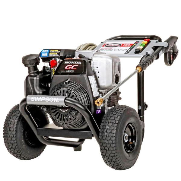 MegaShot MSH3125 -S 3200 PSI at 2.5 GPM HONDA GC190 Cold Water Pressure Washer