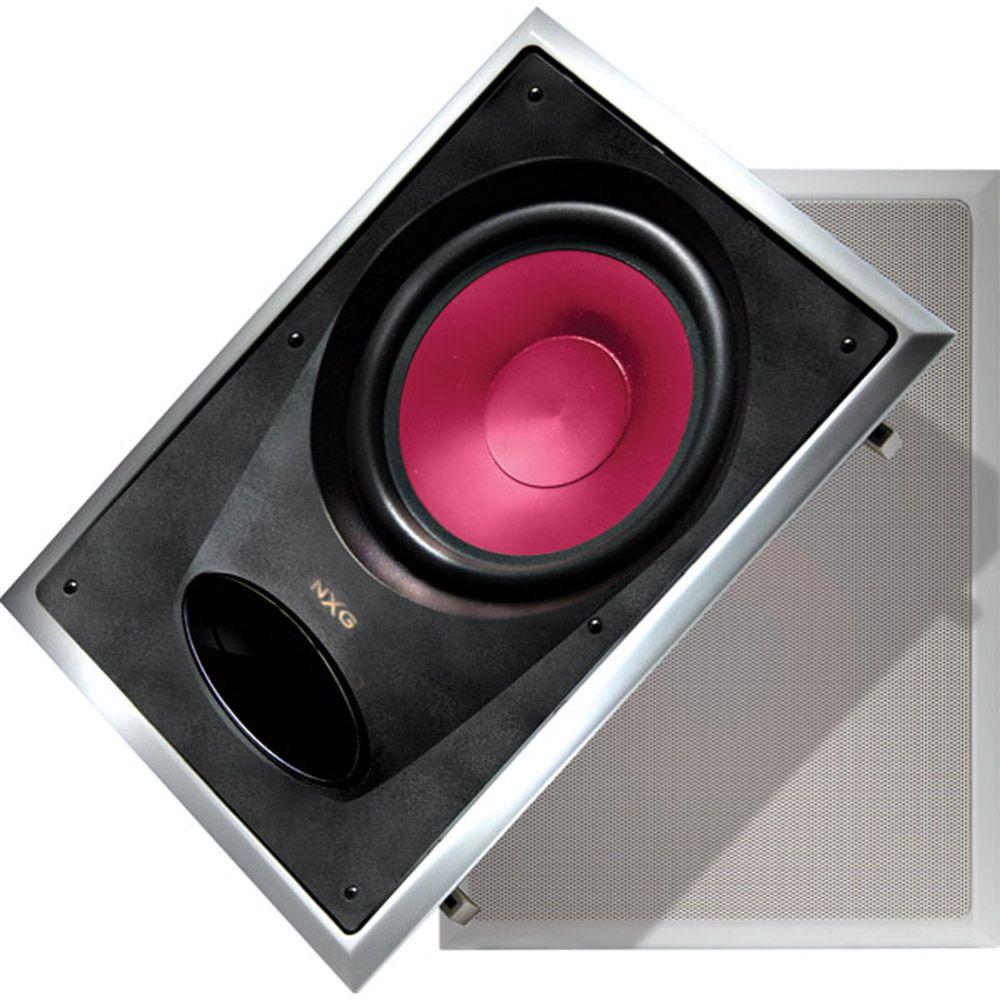 NXG 10 in. 175-Watt In-Wall Mounted Subwoofer Speaker System-DISCONTINUED