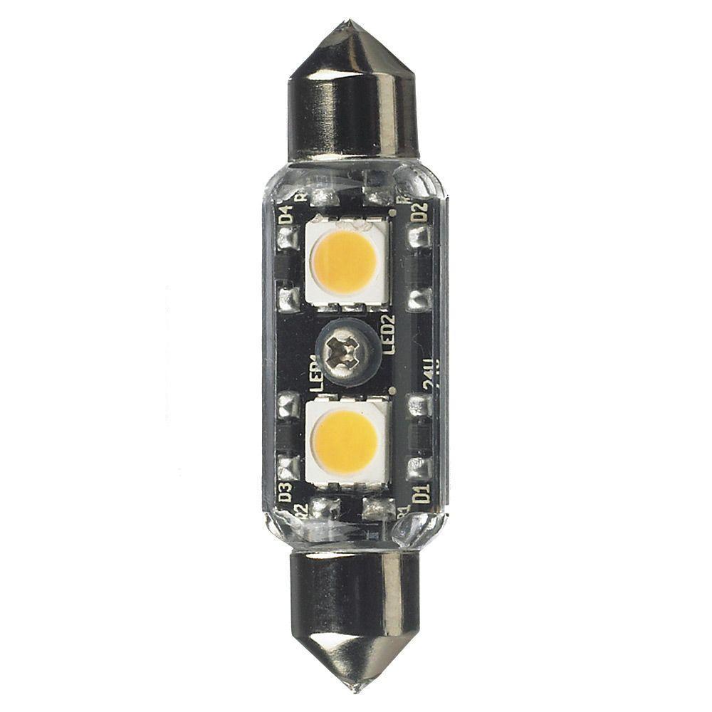 Ambiance 12-Volt LED Clear Festoon Lamp (3000K)