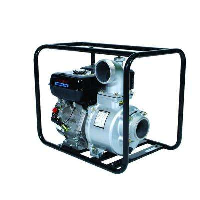 4 in. 9 HP Gas-Powered Utility Water Pump