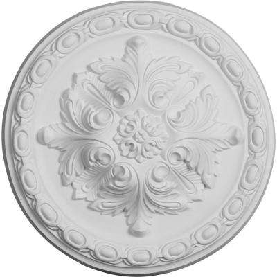 11-3/4 in. OD x 3/8 in. P Stockport Ceiling Medallion