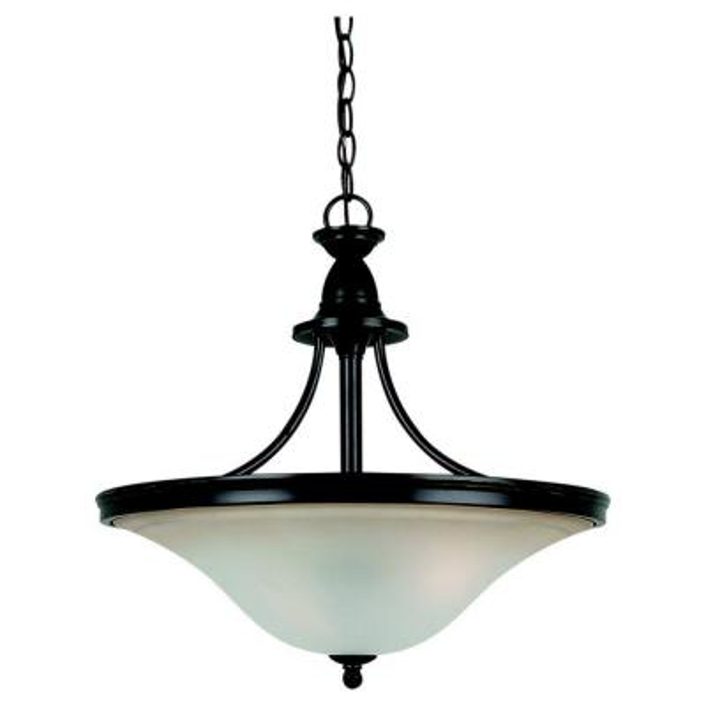 Gladstone 3-Light Heirloom Bronze LED Pendant