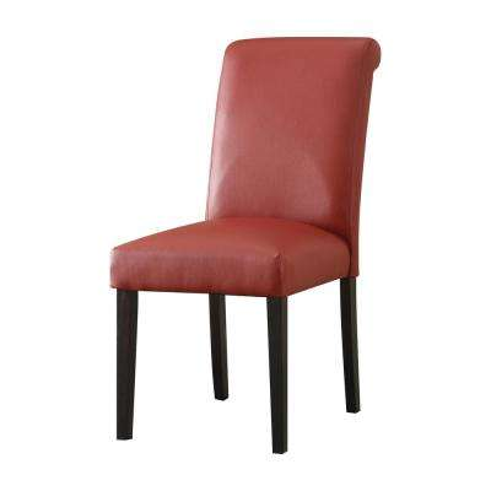 Gregory Wine PU Side Chair